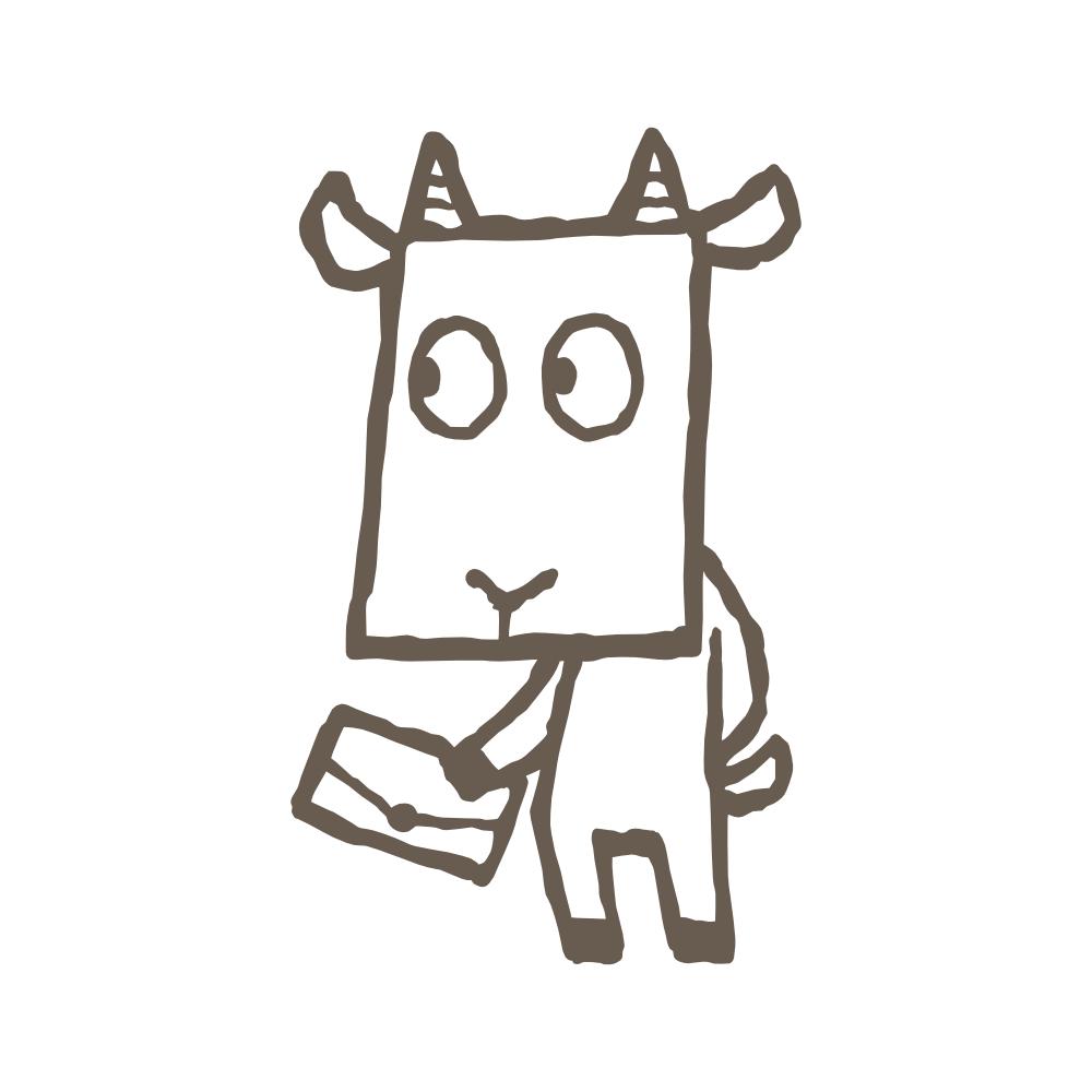 otayori_mascot_brown